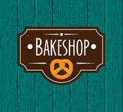Collection of vintage retro bakery logo Stock Photos