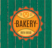 Collection of vintage retro bakery logo Stock Photo