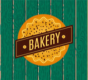 Collection of vintage retro bakery logo Stock Photography