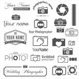 Collection of vintage, retro and modern logo Stock Images