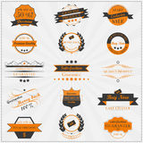 Collection of vintage sales labels and badges Royalty Free Stock Photography