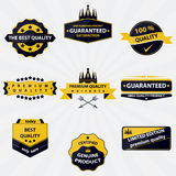 Collection of vintage sales labels and badges Royalty Free Stock Image