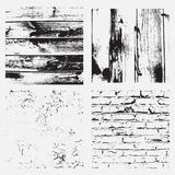 Collection of the vintage textures. For design.Old effect Royalty Free Stock Photo