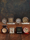 Collection of vintage watches Royalty Free Stock Image
