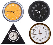 Collection of wall clocks 1 Stock Photo