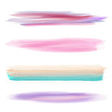 Collection of watercolour brushes Stock Photography