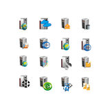 Collection Web server icon symbol Stock Photos