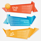 Collection of website elements stock illustration