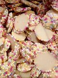 Collection of White Chocolate Candy Sweets Royalty Free Stock Photo