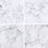 Collection of white marble texture and background. Royalty Free Stock Photo