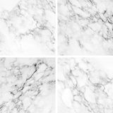 Collection of white marble texture and background. Stock Photography