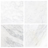 Collection white marble texture background (High resolution), se Stock Photos