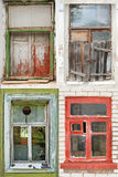 Collection of windows Royalty Free Stock Photography