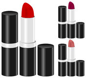 Woman Lipstick Make Up Set Royalty Free Stock Images