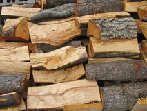 A collection wood Royalty Free Stock Photo