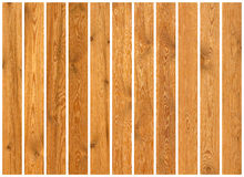 Collection of wood planks textures Stock Photography
