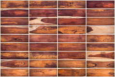 Collection of Wood texture background Set 01 on white background Royalty Free Stock Photo