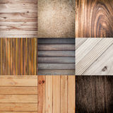 Collection of wood texture background Royalty Free Stock Image