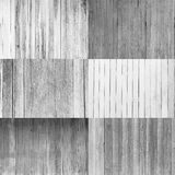 Collection of wooden background, black and white color Royalty Free Stock Photos