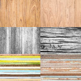 Collection of wooden background Stock Photos
