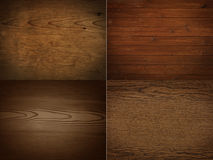 Collection of Wooden Panels Stock Photos