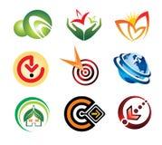 collection1 koloru logo royalty ilustracja