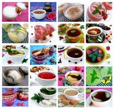 Collections de boissons : 20 images Photo stock