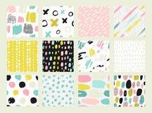 Collections de modèle sans couture coloré Images stock