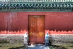 Collections historiques chinoises de mur Photographie stock
