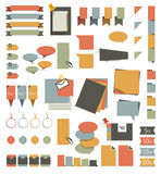 Collections of infographics. Royalty Free Stock Photography