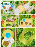 Collections od  Landscape Plans Stock Photography