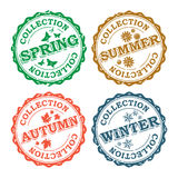 Collections Stamps Stock Image