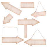 Collections of Wooden Arrows Stock Photography