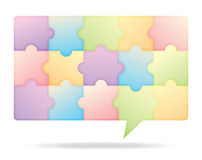 Collective Chat Bubbles Royalty Free Stock Photos