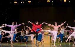 Collective dance Stock Photos