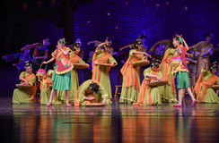 """Collective production-Dance drama """"The Dream of Maritime Silk Road"""" Stock Photography"""