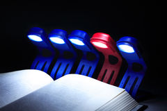 Collective Reading Royalty Free Stock Photo
