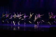 Collectivisme 1--Âne de drame de danse obtenir l'eau image libre de droits