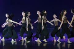Collectivisme 2--Âne de drame de danse obtenir l'eau images libres de droits