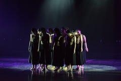 Collectivisme 3--Âne de drame de danse obtenir l'eau image stock