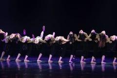 Collectivisme 6--Âne de drame de danse obtenir l'eau images libres de droits