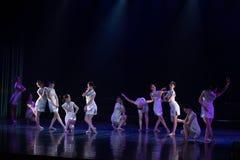 Collectivisme 2--Âne de drame de danse obtenir l'eau photos libres de droits