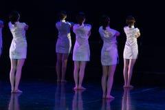 Collectivisme 3--Âne de drame de danse obtenir l'eau photo stock