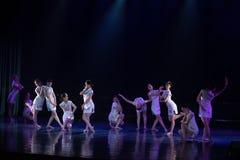 Collectivisme 5--Âne de drame de danse obtenir l'eau photographie stock