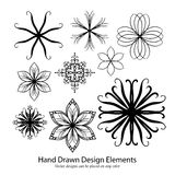 Collecton of vector design elements Royalty Free Stock Photos