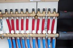 Collector voor het verwarmen stock afbeelding