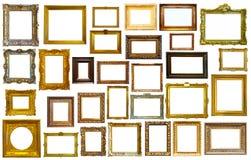 Collectrion dei telai calssical di arte Fotografia Stock Libera da Diritti