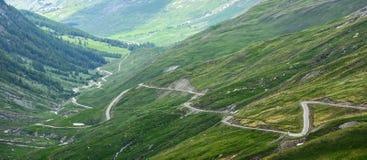 Colledell'agnello, Franse Alpen Stock Foto's