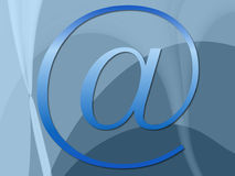 Collegamenti blu Fotografie Stock Libere da Diritti
