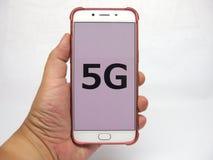 collegamenti di futuro 5G Immagini Stock Libere da Diritti